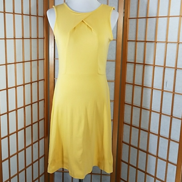 New York & Company Dresses & Skirts - New York and Company 100% cotton yellow dress